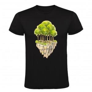 Tričko Ostrov stromů - černé
