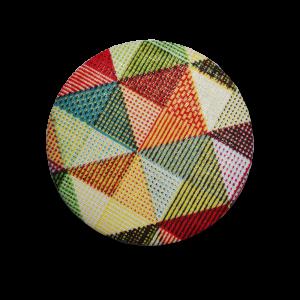 Zrcátko látkové - mozaika