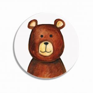 Placka/brož Medvěd