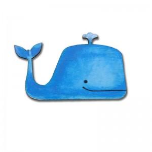 Brož velryba pro děti