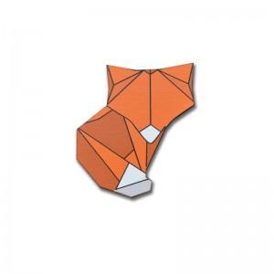 Brož liška origami