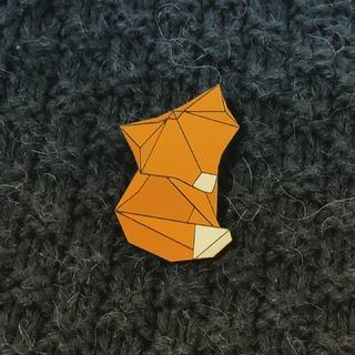 Dnes mi dělá společnost liška🙂 #liska #origami #broz #brozliska #malesach